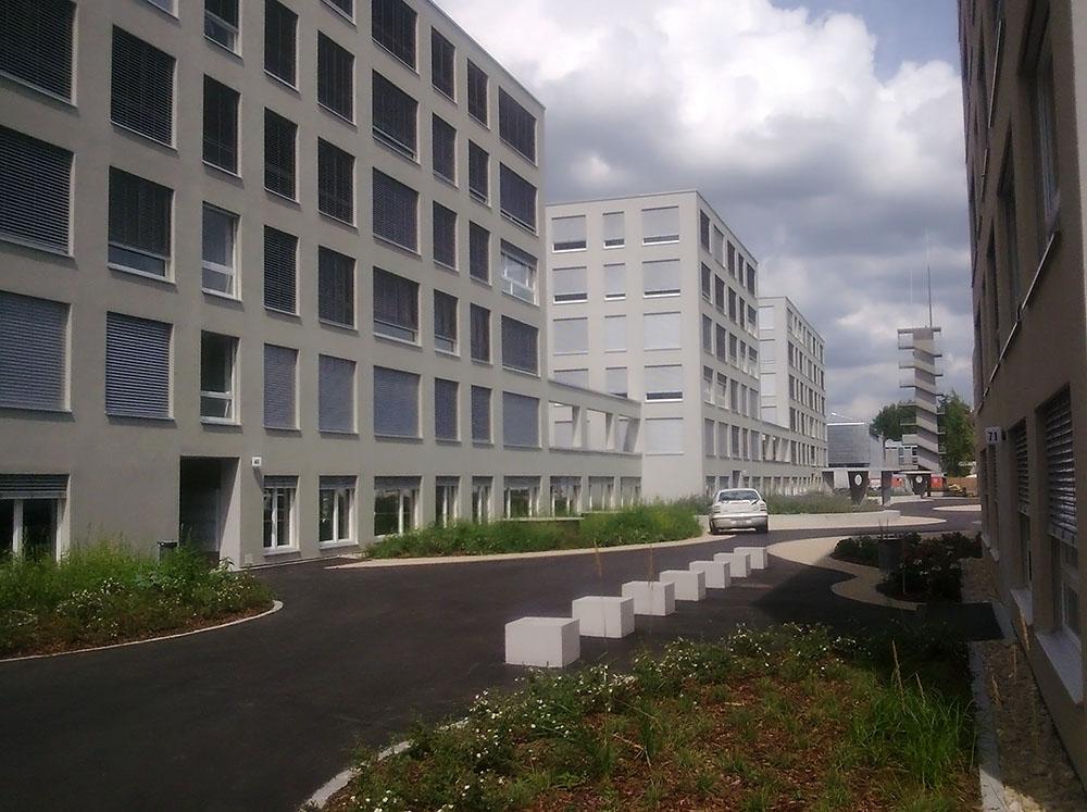 Wohn- u. Gewerbeüberbauung Bachmann, Biel