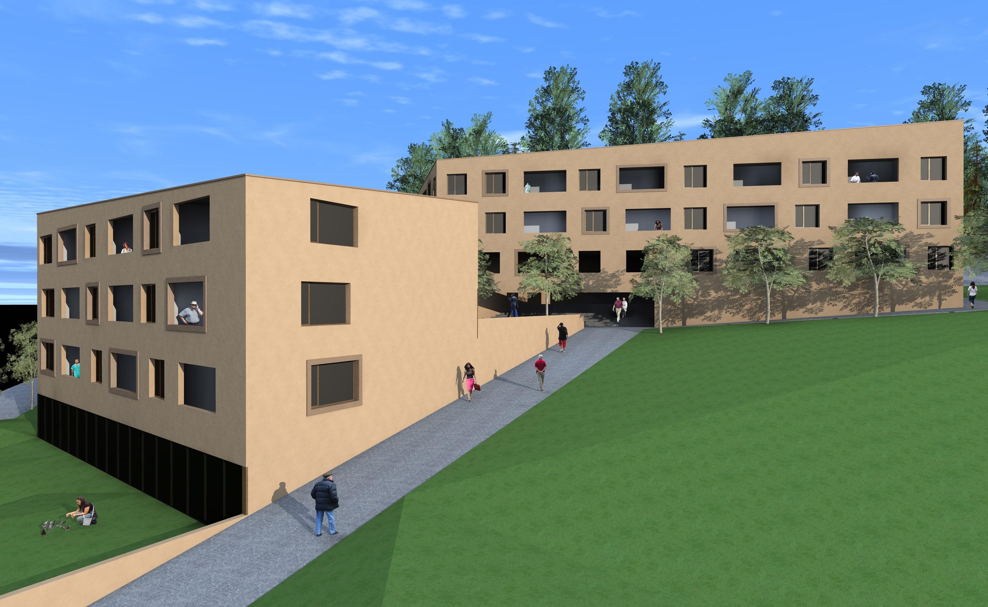 Neubau Le Marronnier, Reconvilier