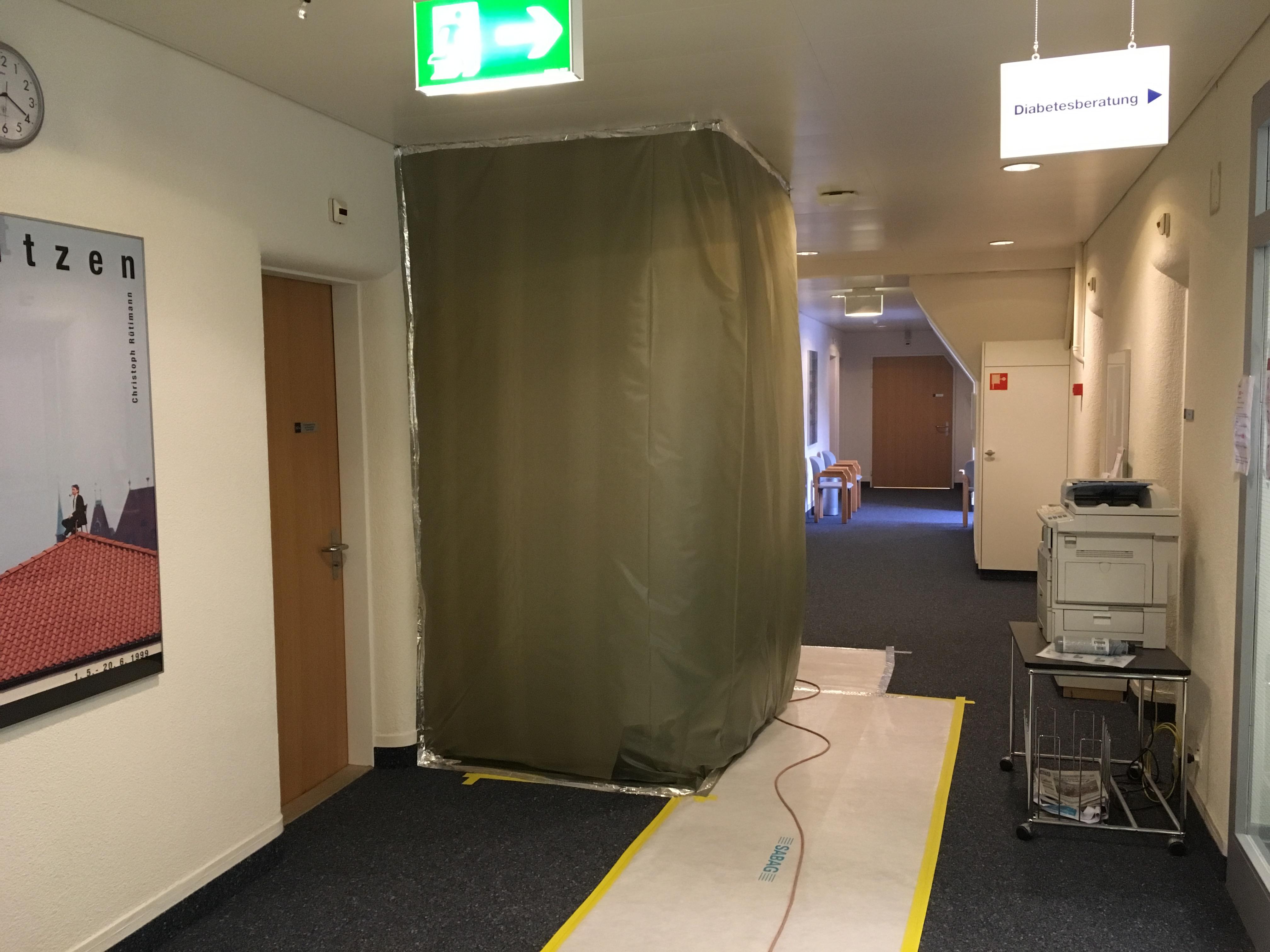 Umbau Notfall Spital Aarberg