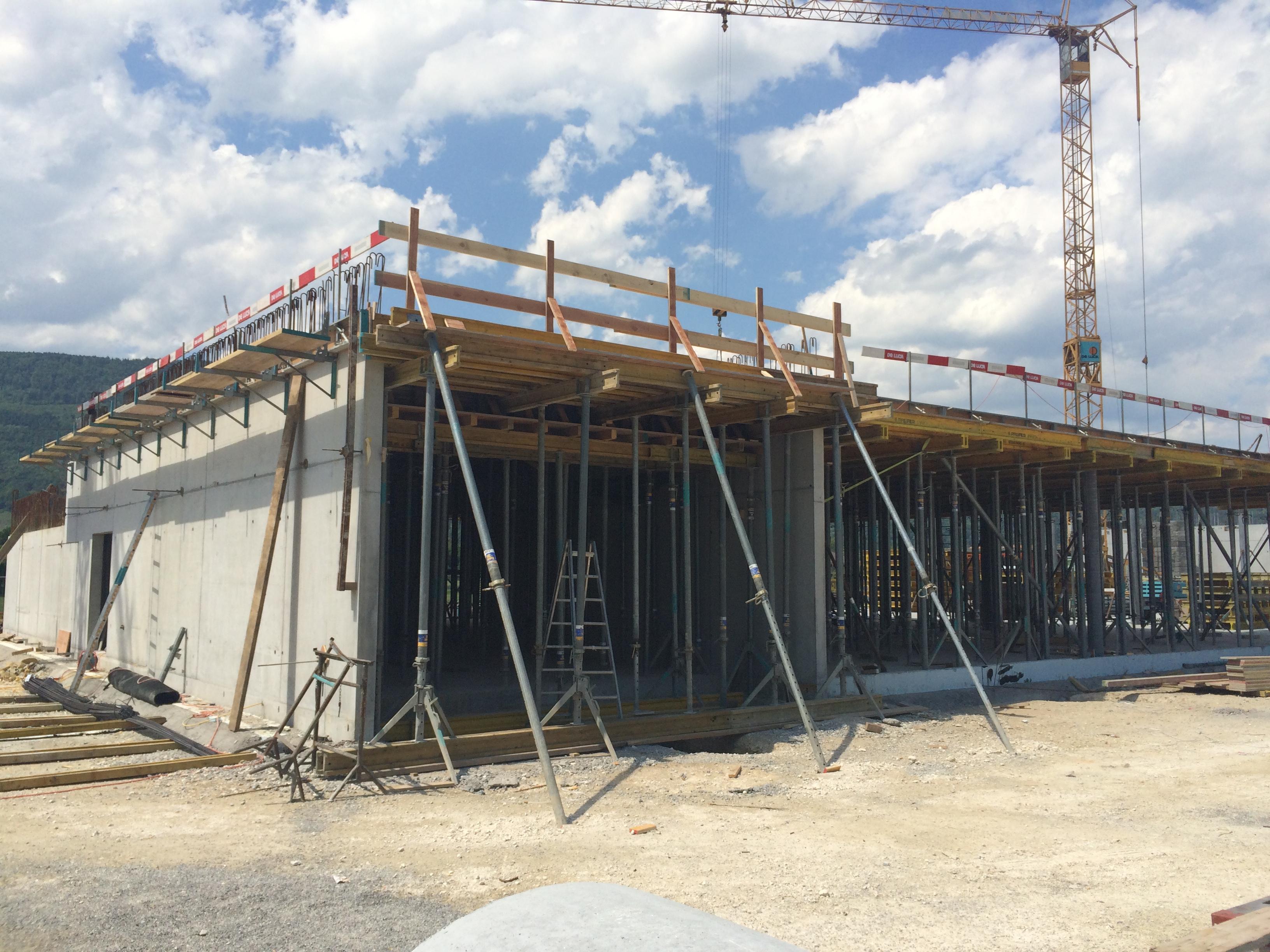 Neubau Fabrik Balluff, Bellmund