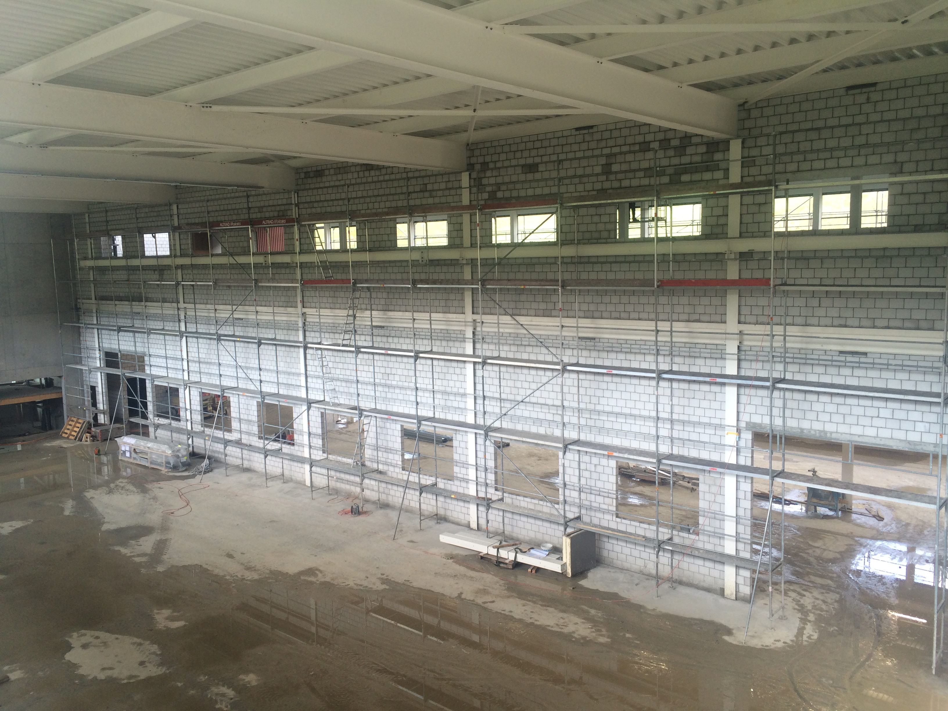 Neubau Lagerhalle Precitrame, Tramelan