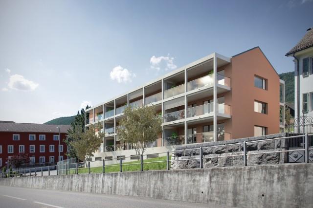 Construction de 12 appartements pour seniors, Chaumin, Corgémont