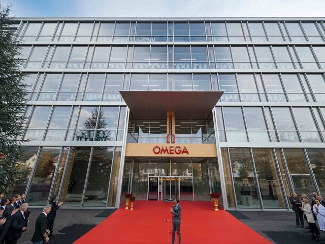 Bienne, OMEGA, Usine de production