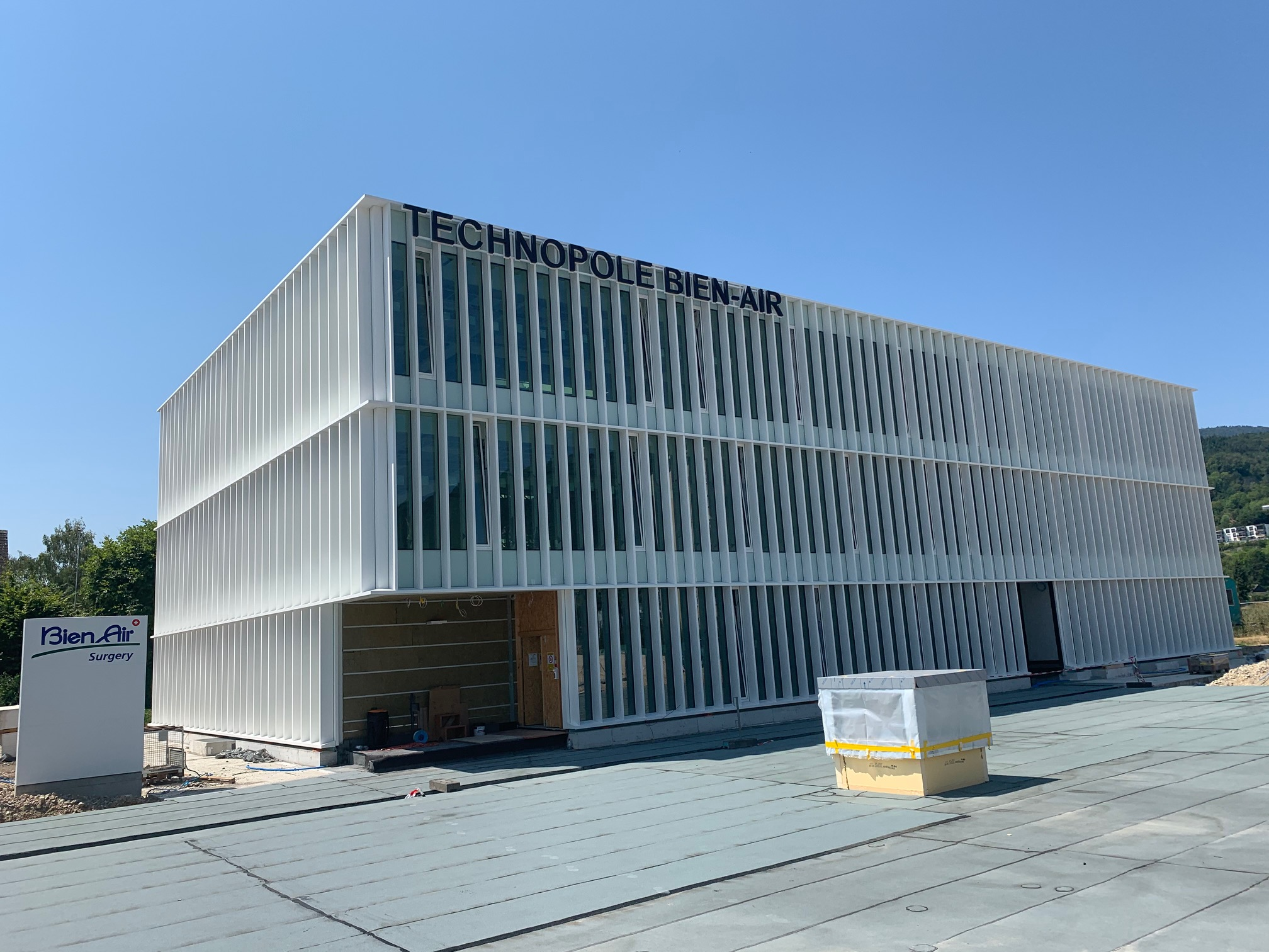 Bienne, Bien-Air Surgery Construction d'une technopole