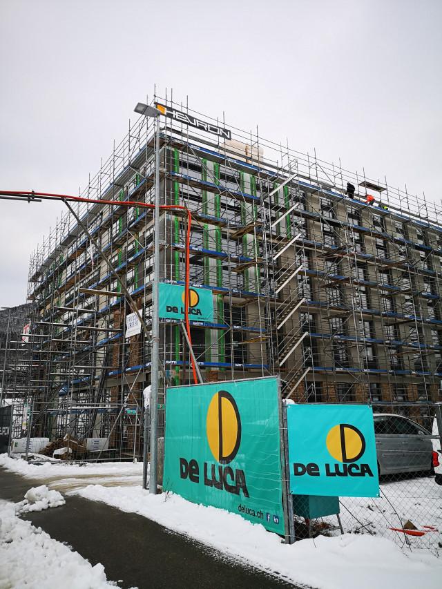 Neuen Industriebau DEXEL SA