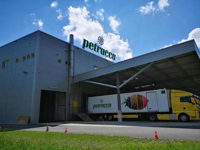 Pieterlen, Petracca Sàrl Nouvelle halle de stockage pour fruits et légumes