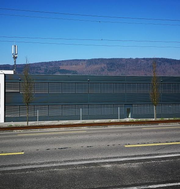 Neubau Fabrik Balluff AG, Bellmund