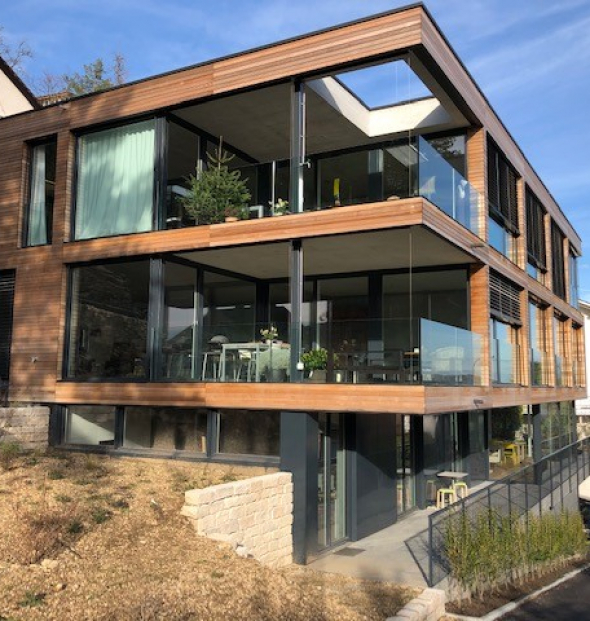 Biel, Höheweg 5 Neubau von 5 Wohnungen höherständig