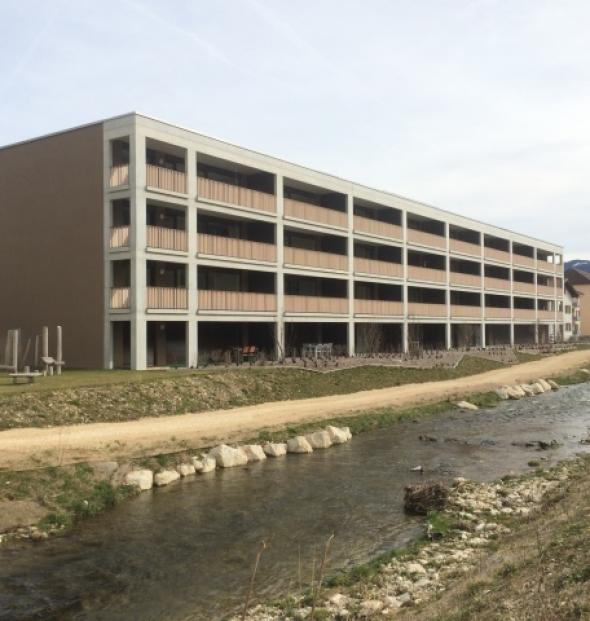 Construction d'un complexe d'habitation Espace Birse, Bévilard