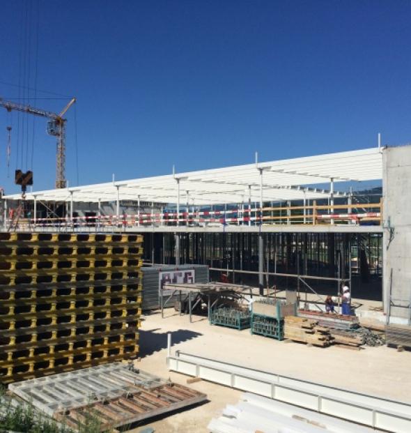 Nouvelle usine Balluff SA, Bellmund