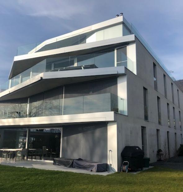 La Neuveville, St-Joux Neubau von 5 Wohnungen höherständig