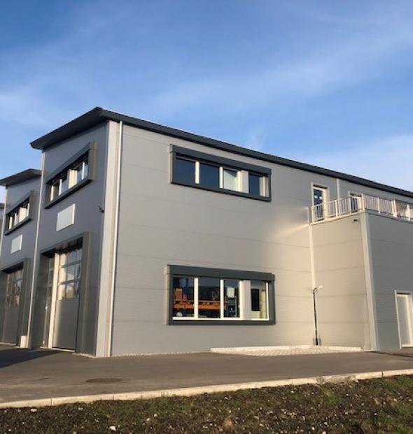 Ins, Technoparc Nouvelle construction de 8 entrepôts